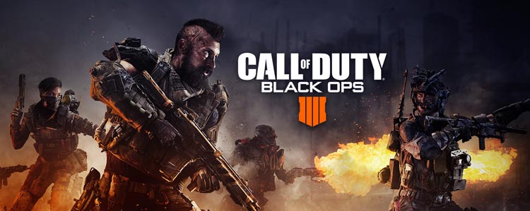 CoD Black OPS 4 PS4 cover